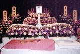 会葬風景や祭壇など